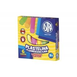 ASTRA Plastelína neónová 6 farieb, 83811906