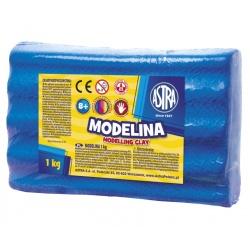 ASTRA Modelovacia hmota do rúry MODELINA 1kg Modrá, 304111010