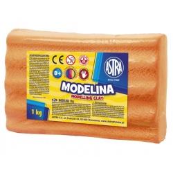 ASTRA Modelovacia hmota do rúry MODELINA 1kg Oranžová, 304111006