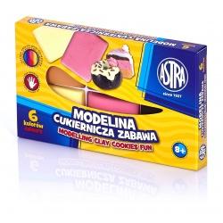 ASTRA Modelovacia hmota do rúry MODELINA Cukráreň 6ks, 304114001