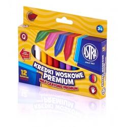 ASTRA Voskové farbičky Premium 12ks, 316111001