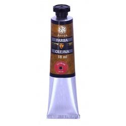 ARTEA Olejová farba Profi 18ml, Kadmium Deep Red / Kadmiová Červená Tmavá, 83410973