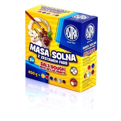 ASTRA Modelovacia soľná hmota 450g + 6 farieb, 324109001