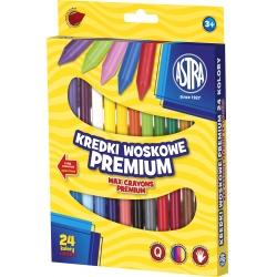 ASTRA Voskové farbičky Premium 24ks, 316111003