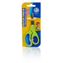 ASTRA Školské ergonomické nožnice pre pravákov 13cm, blister, mix farieb, 407118005