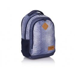 Študentský / školský batoh HEAD Denim, HD-07