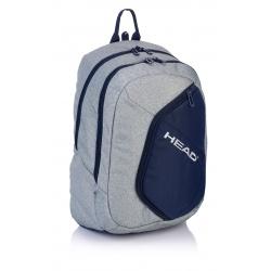 Študentský / školský batoh HEAD Grey, HD-65, 502018025