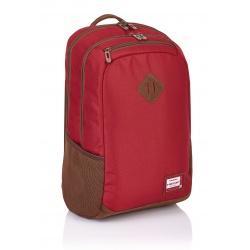 Študentský / školský batoh HEAD Red, HD-27, 502017041