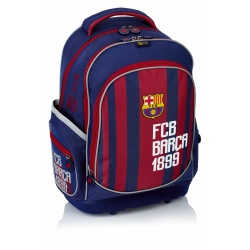 Školský batoh s pevným dnom FC BARCELONA Stripe, FC-181