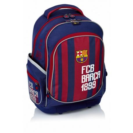 Školský batoh s pevným dnom FC BARCELONA Stripe, FC-181, 502018004