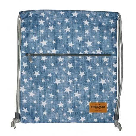 59833bbbb28fa Luxusné vrecúško / taška na chrbát HEAD Stars, HD-140