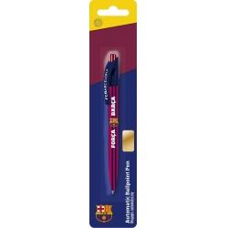 Guľôčkové pero 0,7mm FC BARCELONA, modré, blister, 201018004