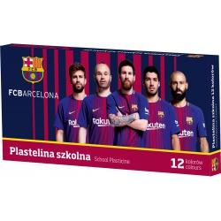 ASTRA Školská plastelína FC BARCELONA FC-216, 12 farieb, 303218005