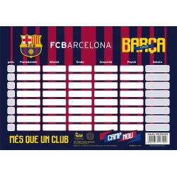 Rozvrh hodín / Timetable FC BARCELONA, FC-202, 708018003