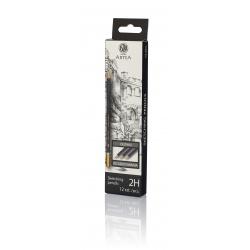ARTEA Umelecká skicovacia šesťhranná ceruzka, tvrdosť 2H, 206118009