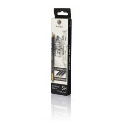 ARTEA Umelecká skicovacia šesťhranná ceruzka, tvrdosť 5H, 206118012