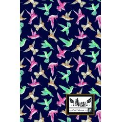 HASH® Poznámkový blok B5 Tiny Bird, HS-150, 160 listov, štvorčekový (5x5mm), 101019011