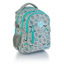 HEAD Školský batoh 38cm Origami, HD-239, 24L, 502019024
