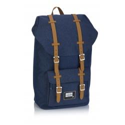 Študentský batoh HEAD Retro Blue, HD-277, 502019058