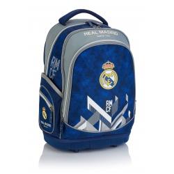 Školský batoh s pevným dnom REAL MADRID Blue, RM-180