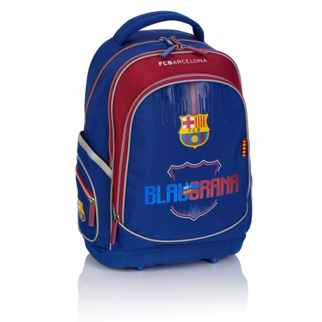 Školský batoh s pevným dnom FC BARCELONA Blaugrana, FC-230, 502019004