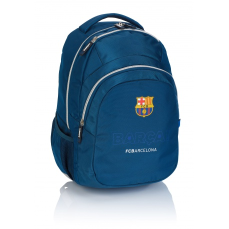 Školský batoh 44cm FC BARCELONA Blue, FC-246