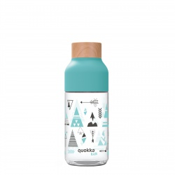 QUOKKA ICE Plastová fľaša KIDS INDIAN 570ml, 06981