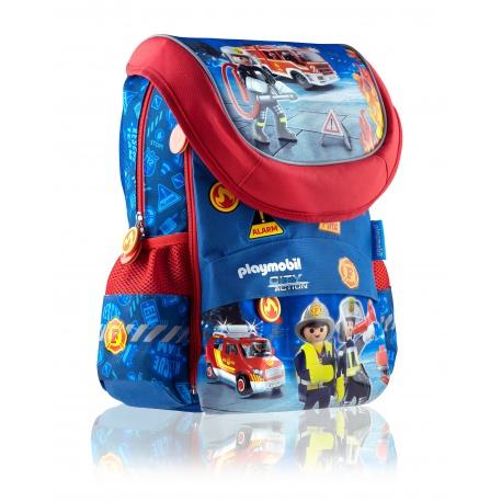 Školský anatomický batoh pre prvý stupeň PLAYMOBIL® City, PL-02, 502020013