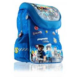 Školský anatomický batoh pre prvý stupeň PLAYMOBIL® Police, PL-11, 502020091
