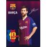FC BARCELONA, Zošit A5 štvorčekový (5x5mm), 32 listov, mix vzorov, 102019004
