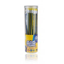 ASTRA Obyčajná HB ceruzka s gumou, stojan, 206120008