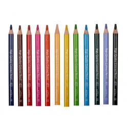 ASTRA Trojhranná farbička JUMBO Modrá Svetlá 1ks, 312117008