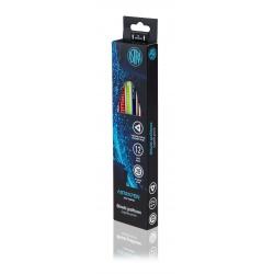 ASTRA, Obyčajná ceruzka z čierneho dreva s gumou, tvrdosť 2B, krabička, 206120016