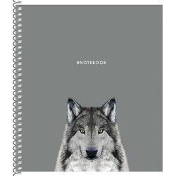 SHKOLYARYK® Dizajnový blok so špirálou B5, 80 listov, štvorčekový, mix motívov, 104020020