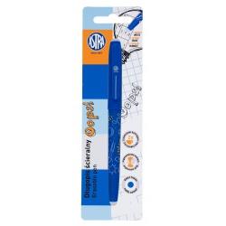 ASTRA OOPS! Gumovateľné pero 0,6mm, modré, dve gumy, blister, 201319002