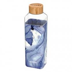 QUOKKA STORM Sklenená fľaša so silikónovým povrchom LIQUID, 700ml, 40021
