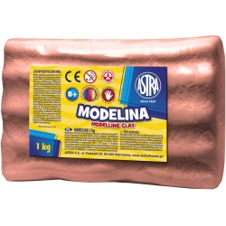 ASTRA Modelovacia hmota do rúry MODELINA 1kg Čokoládová, 304118006