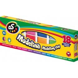 AS Modelovacia hmota do rúry MODELINA 18ks, 304219002