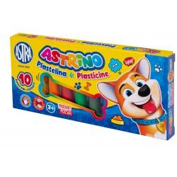ASTRINO Školská plastelína 10 farieb, 303221002