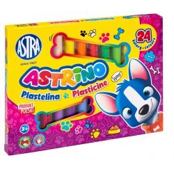 ASTRINO Školská plastelína 24 farieb, 303221004