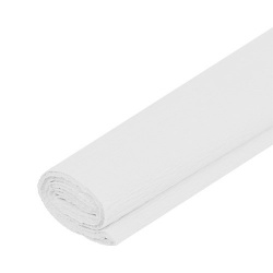 ASTRAPAP Papier krepový, 250 x 50cm, biely , 113021028