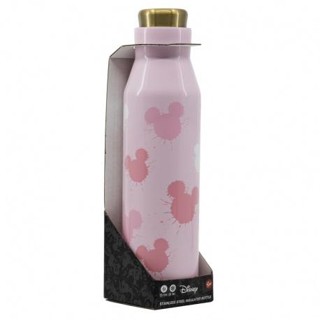 Nerezová fľaša / termoska MICKEY MOUSE Pink 580ml, 01031